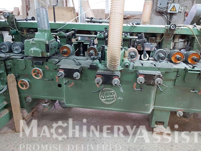 Used WEINIG four-sided planer 7-head