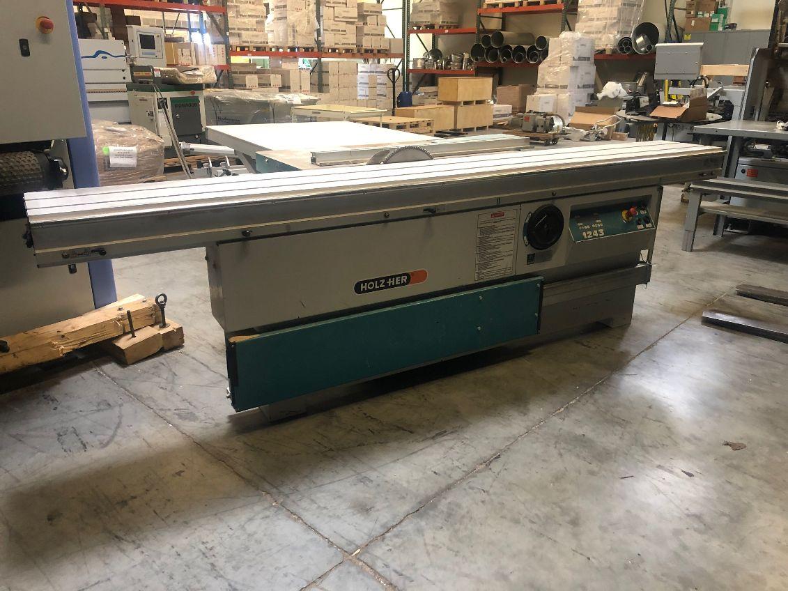 Holzher Holzher Model 1243 Sliding Panel Saw