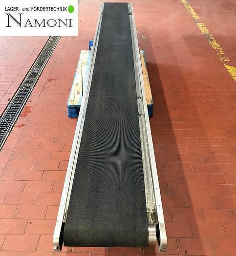Gebraucht Gurtförderer, Steigförderer, Förderband 3,7 Meter