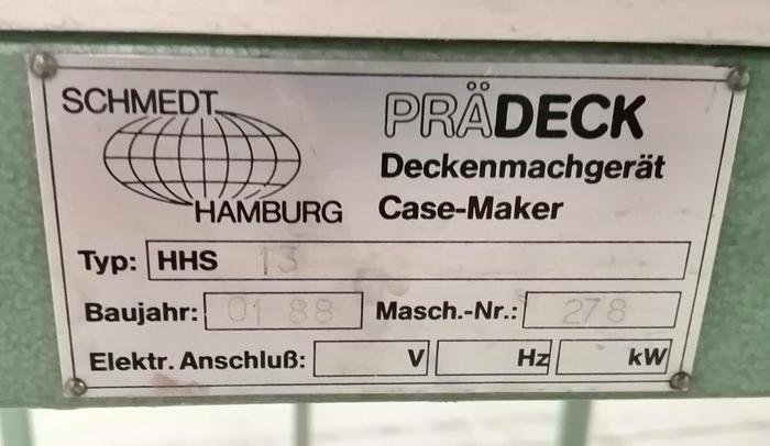 1988 Schmedt Prädeck HHS 13