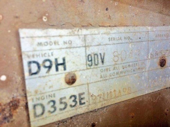 1979 CATERPILLAR D9H