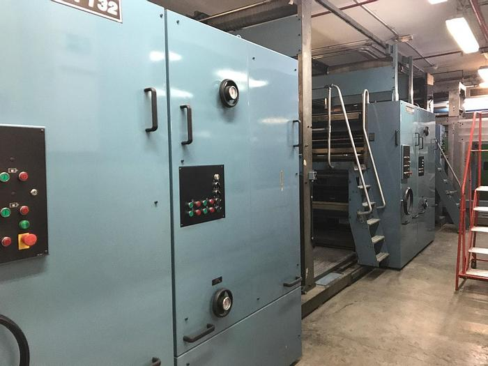 """Used 2001 Timson T32 Two Color Web Offset Press - 69"""" circumference x 48"""" width"""