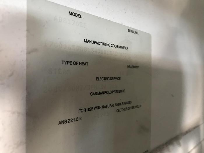 ADC 170LB STEAM DRYER