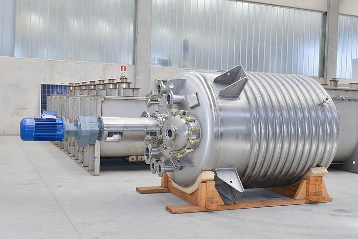 Reattore Coprinox SSR3000 in inox AISI316L