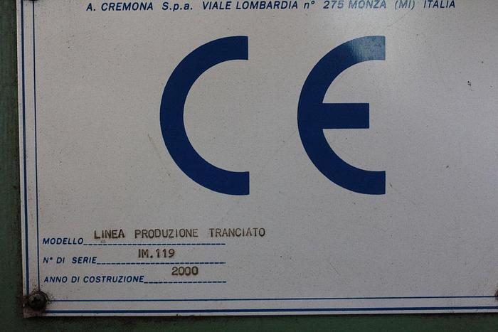 2000 Angelo & cremona RS4000+ESAB