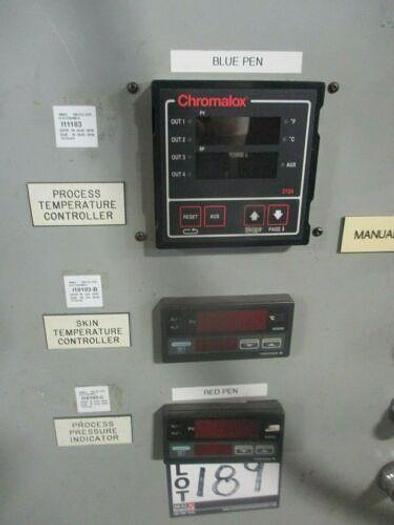 FLUITRON AUTOCLAVE/REACTOR 2200 PSI@750F INCONEL WITH CONTROL_UNIQUE