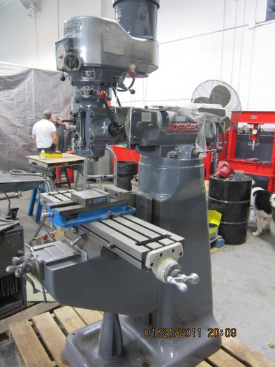 "Bridgeport Mill Series 42"" 2J 1.5 hp"
