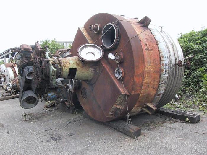 Usata Reattore MANDRESSI da 10000 Litri