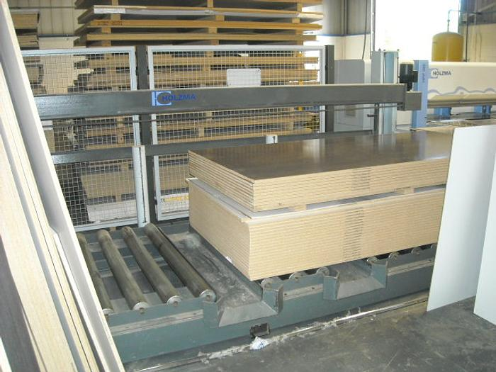 Holzma Econo Optilift Model HEE38/16Charging system with rollers and control