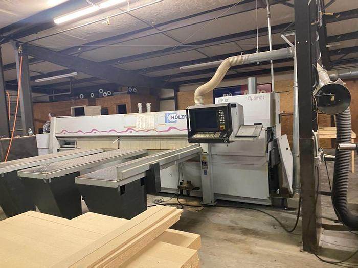 Used Holzma Optimat CNC Panel Saw HPP 82-38