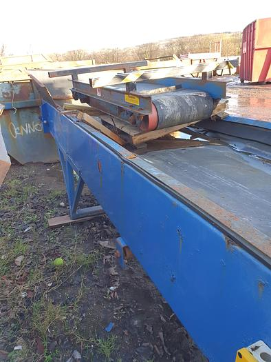 Used 2014 Ultra Plant Hydraulically driven conveyor belt and magnet