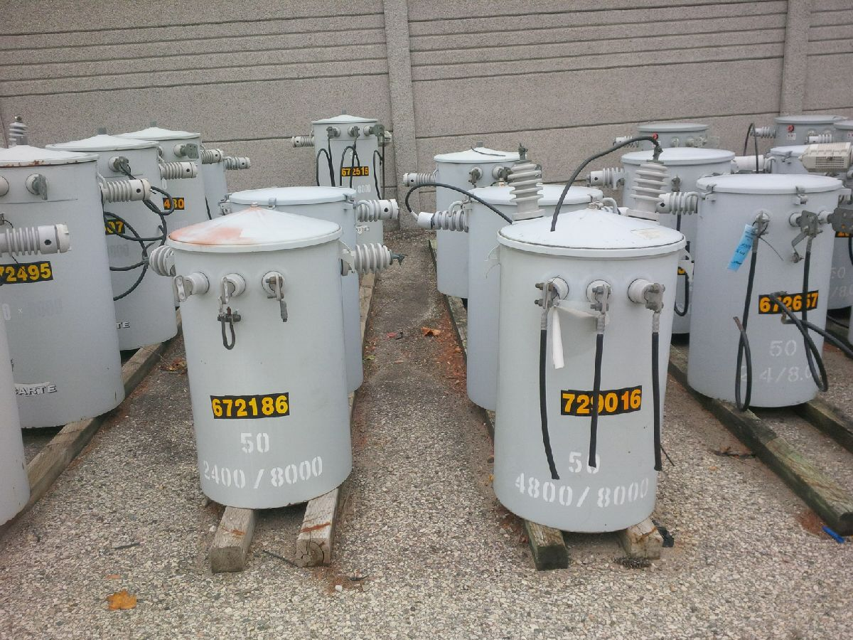 1 Lot of Pole Mount Transformers