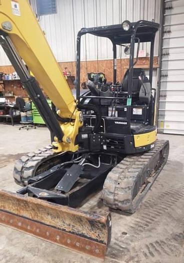 Used Yanmar VIO55 Mini Excavator