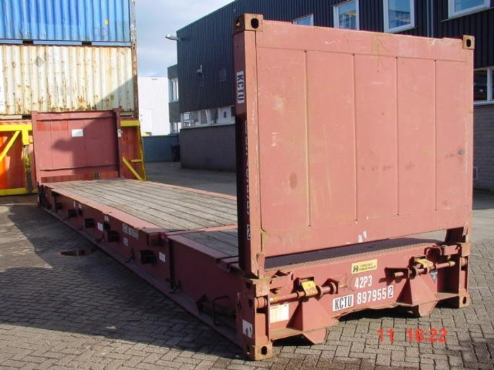 "40 'Container 8'6 ""Flush Folding Ends"