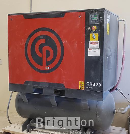 Used 2018 Chicago Pneumatic QRS 30 HPD used Rotary Screw compressor