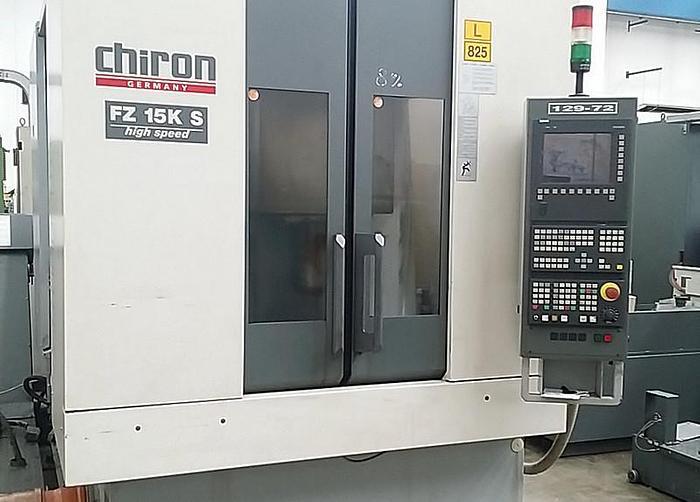 Usata 2003 Chiron FZ15KS 4 axis