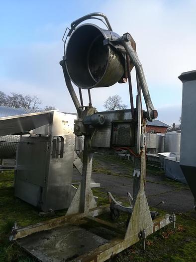 Used Lakierowana wywrotnica do zbiorników okragłych