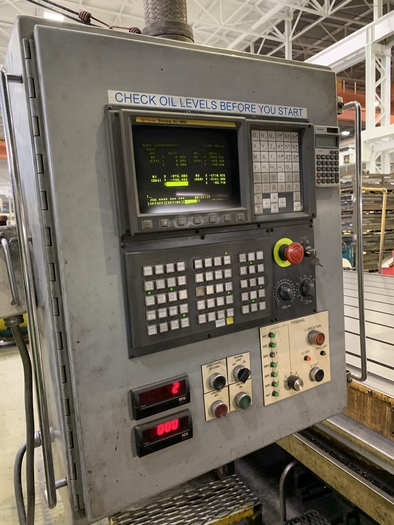 Homma CNC Vertical Gantry Mill