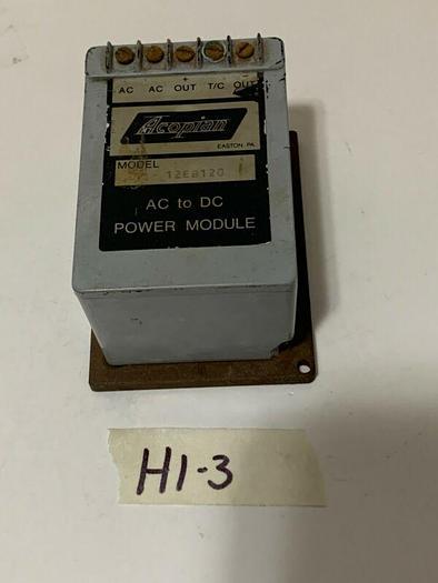 Used Acopian 12EB120 AC To DC Power Module Fast Shipping! *Warranty*