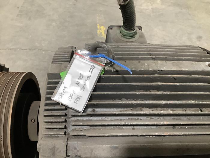 WESTINGHOUSE 100HP Motor