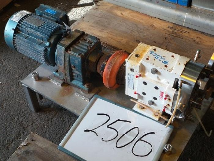Used Ampco 1 1/2'' x 1 1/2'' Positive Displacement Pump