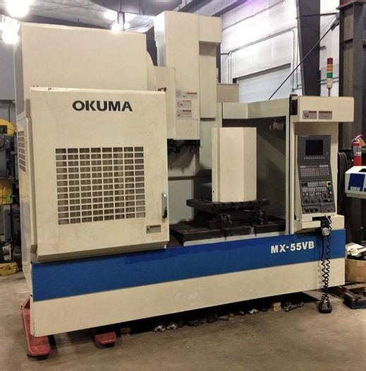 Used Okuma MX55VB Vertical Machining Center MX55VB