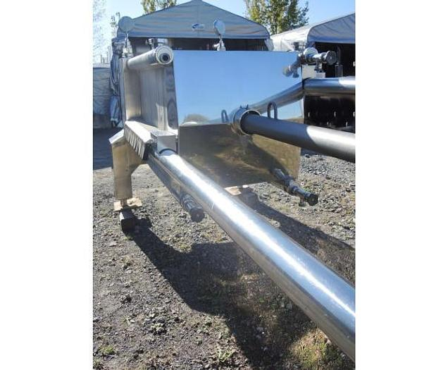 """USED FILTER PRESS, PLATE & FRAME, 39"""" X 39"""", STAINLESS STEEL"""
