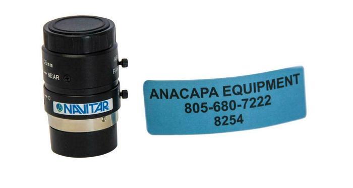Used ThorLabs Navitar MVL25M23, 25mm EFL, F/1.4, Microscope Objective (8254)W