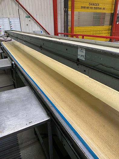 Used Triple Stack Steel Conveyors. Bottom 10m L 0.75 W. Middle 10m L 0.95m W. Top 7m L 0.35m W