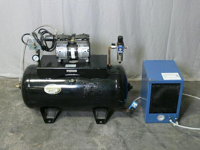 Used Proluxe DPCD120 Clean-Air Compressor w/ Refrigerated Air Dryer