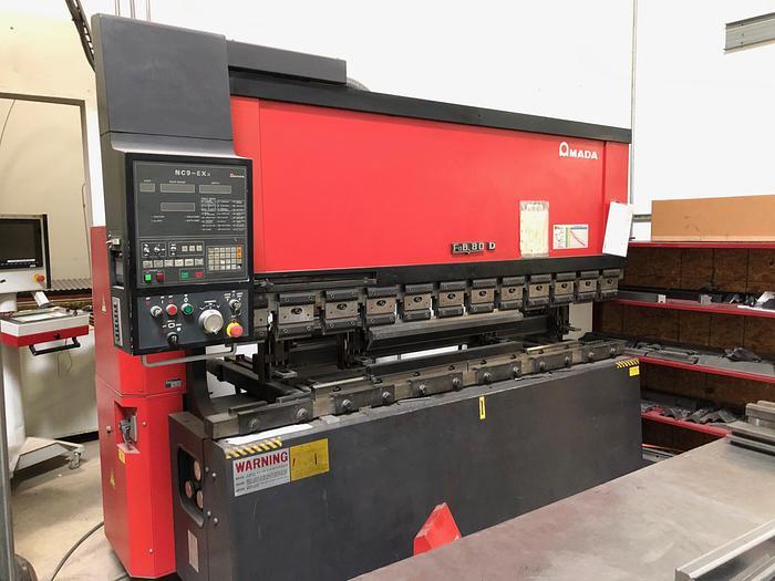 1991 88 Ton Amada FBD-8025 CNC Press Brake