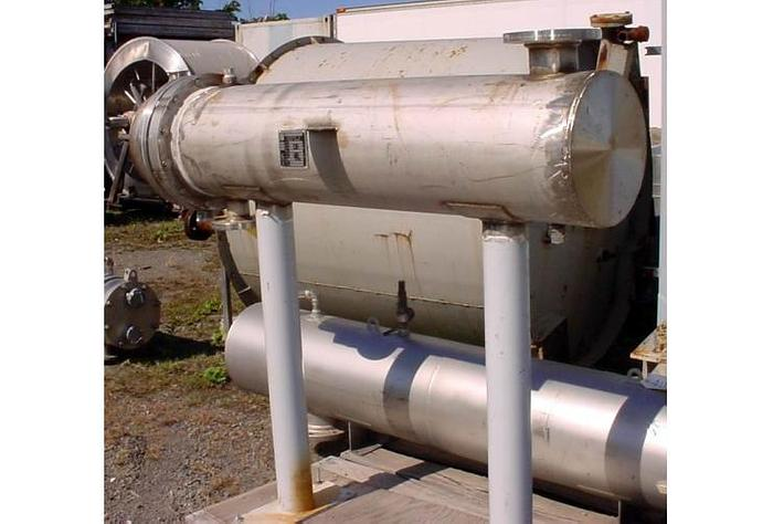 USED HEAT EXCHANGER, SHELL & TUBE, 267 SQ. FT.