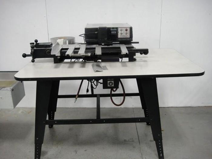 Used Scott 1800 Plastic Index Tab Machine