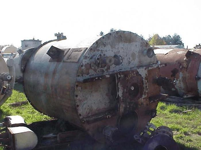 Used 2,300 GALLON TANK – S/S – JACKETED BOTTOM