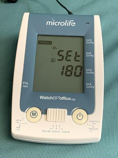Used Microlife WatchBP Office AFib (Twin200 AFS)
