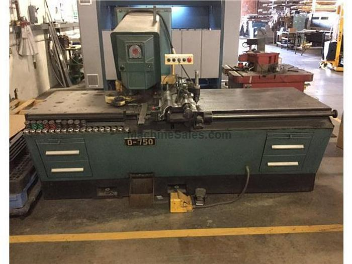 33 Ton Amada D-750 Duplicator Single Head Punch