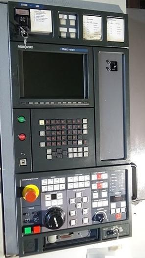 """23.62""""X, 16.93""""Y, 18.11""""Z, MORI SEIKI SV-400 VMC, Twin Pallets, 12,000 RPM"""