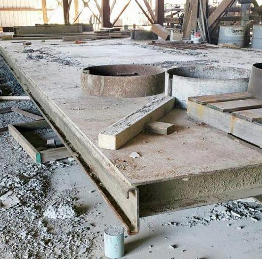 Used Hamilton Precast Pouring Beds/Tables