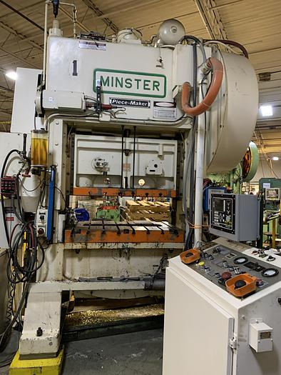 Used 100 ton Minster P2 High Speed Press