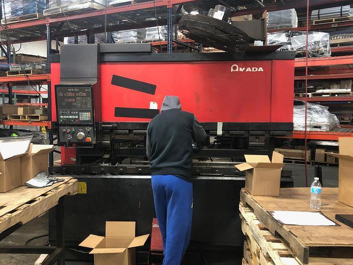 88 Ton Amada FBD-8025 CNC Press Brake
