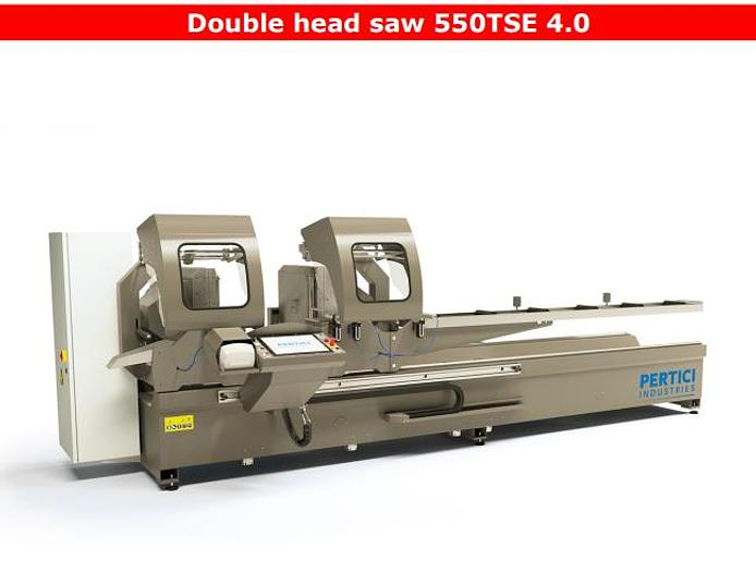 Used Pertici Double Head  550TSE 4.0 Saw