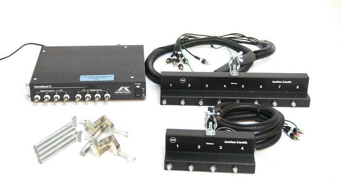 Used Automate Scientific 8 + 4 ValveLink Pinch Valves w/ ValveBank II + Extras (7127R