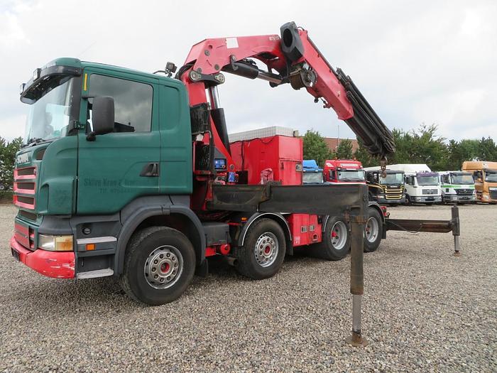 Meget god Scania R470 8x4 HMF ODIN K8