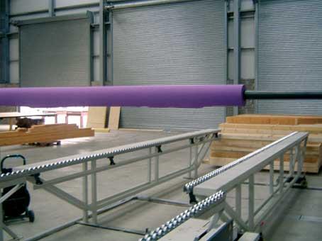 H&M Timber Frame Range of Assembly Tables