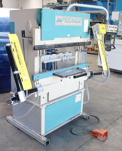 Used Premier CNC 2 Axis Hydraulic Press Brake 25 Ton x 4'