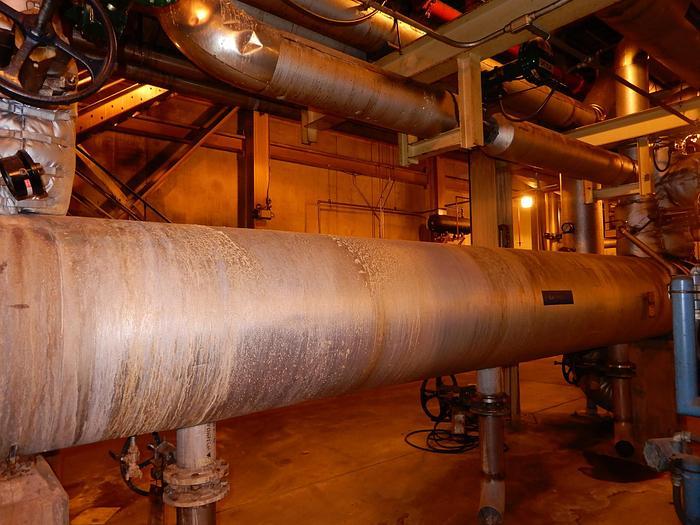 Used LAKEHEAD HEAT EXCHANGER MAWP 150 PSI AT 250 DEGREES F