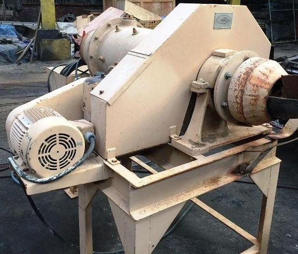 "16"" Hazen Research Rod Mill 3 HP. On Stand Used In Mining & Coal Industries"