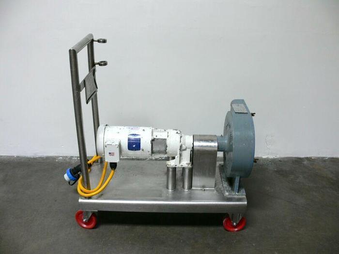 Used Randolph Peristaltic Hose Pump Model 880 w/ Baldor VWDM3558T Washdown Motor