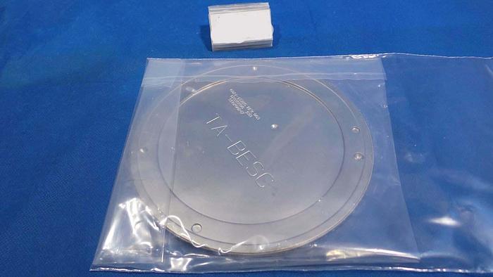 Used Applied Materials 0021-17725 Shetter Disk, 0021-17725 / Rev 003 / TA-BESC / 200mm / Applide Materi