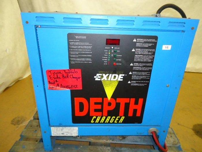 Used Exide Battery Charger; Md#D3E-12-680